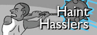 haint hasslers button